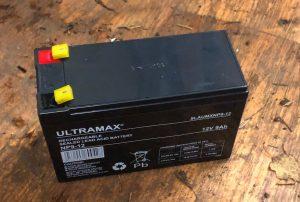 Irrigator Battery