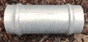 160 mm Female Socket galvanised steel