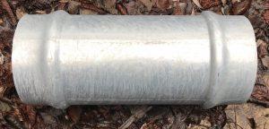 160 mm Female Socket galvanised steel