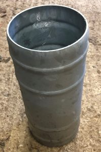 3″ Hosetail Double Steel