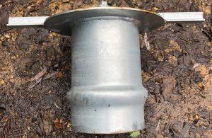 End Cap 160mm Female steel Galvanised