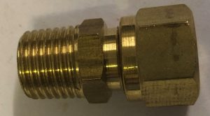 Adaptor 1/4″MBSP x1/4″ nylon 65-12-24