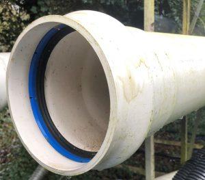 PVC Pipe 110mm 16 bar 6 metre lengths @ £5 P/M