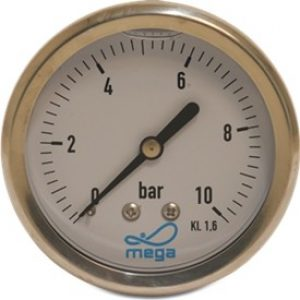 Gauges Glycerine (Rear Entry)