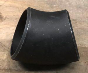 Weld on Steel Bend 4″ X 45