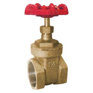 Brass gate valve – PN20