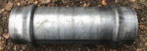 160mm Double socket raw steel
